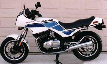SUZUKI GS700 GS750 ESD 1983-85 GS 700 750, QUARTER, SUPERBIKE ...