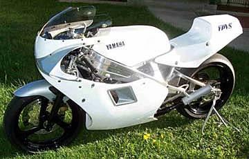 TZ250 Fairing Mounts TZ500, TZ250 TZ350 4A0-28364-00 Yamaha Fairing Mount