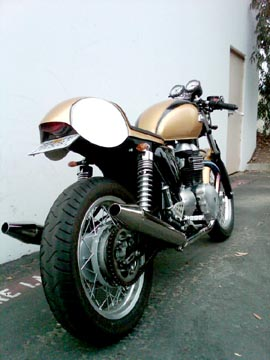 motographite: TRIUMPH TR6 BONNEVILLE =MONKEE #13= by Wrenchmonkees