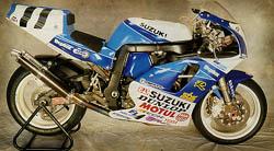 SUZUKI GSXR 750 1993-95 watercooled, GSXR750 fairing, fairings, tail