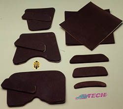 AIRTECH SEAT FOAM RACE TAIL UPHOLSTERY PAD