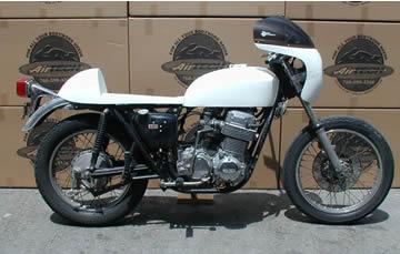 HONDA CB 750 SOHC, Honda CB, CB750, cafe race seat, tank, fender, full, quarter, fairing, racer, dick mann, daytona